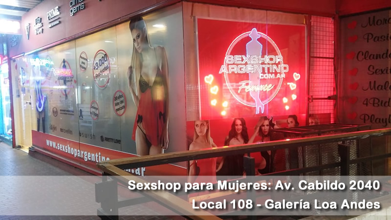 Delivery A Chubut Sexshop para mujeres